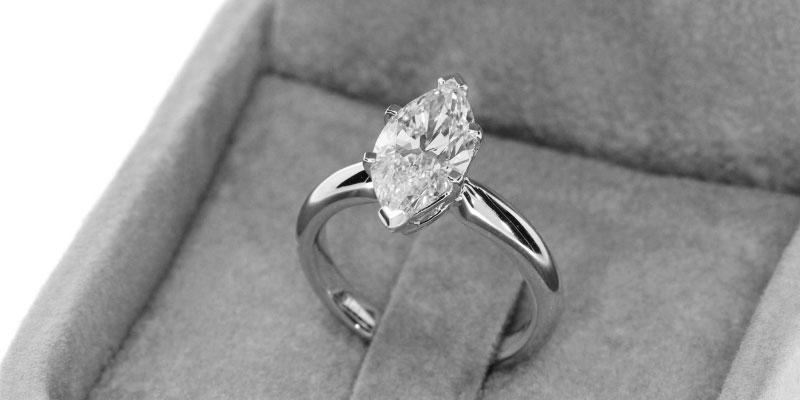 Guide d'achat de diamants taille marquise