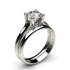 Bague épaulée halo diamant noir serti 4 griffes